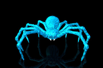 Bill, The Blue Goo! Spider