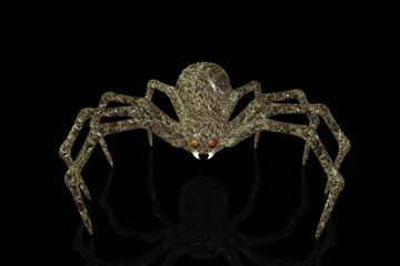 Brown Marble Spider