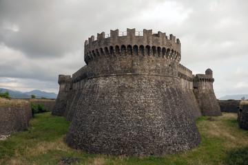 Fortress on the hill of Sarzanello, Sarzana, Italy