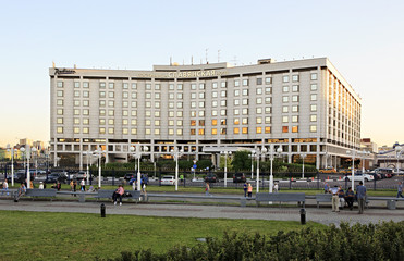 Hotel Slavic Europe Square. Moscow.