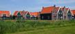 canvas print picture - North Sea house