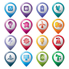 Energy Pointer Icons