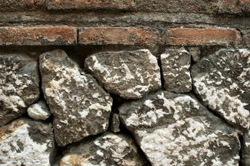 Old Stone Wall Surfaces Texture Backgrounds, Texture 22