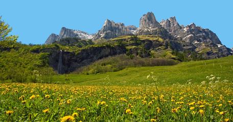 Bergwelt bei Leukerbad