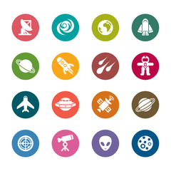 Space Element Color Icons