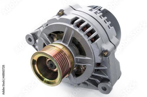 canvas print picture automotive power generating alternator