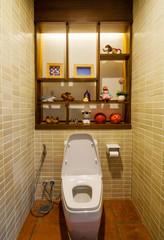 Nice small restroom