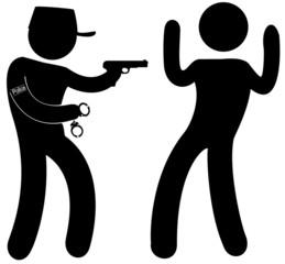 arrestation d'un malfaiteur