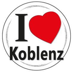 I love Koblenz