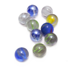 Glass marbles balls