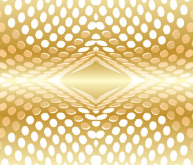 Abstract background circles red gold