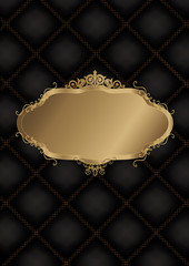 Decorative Frame With Background