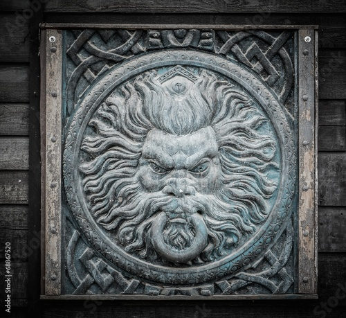 Ancient wall decoration - 68867520