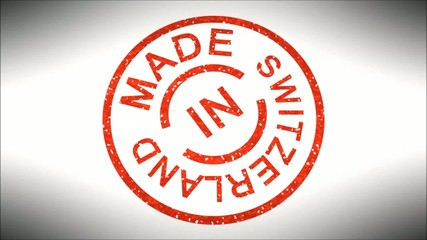 Stempel Made in Switzerland