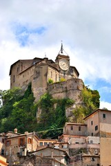 Subiaco - Roma - Rocca Abbaziale