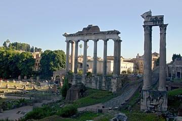 Rome empire ruins