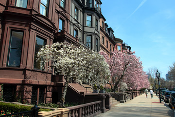 Back Bay, Boston..