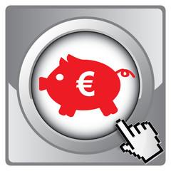 COIN BOX EURO ICON