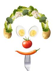 Gemüsesmiley