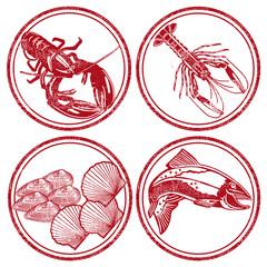 Meeresfrüchte und Fisch