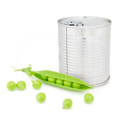 Pea can