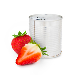 Strawberry can