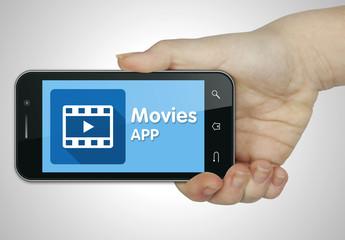 Movies app. Mobile