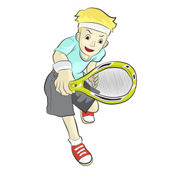 athlete tennis