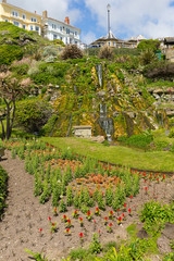 Ventnor botanic garden Isle of Wight tourist town