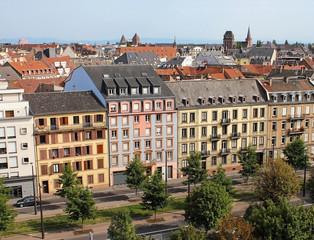 ville vue de haut