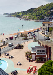 Ventnor Isle of Wight south coast island tourist town