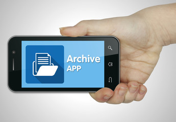 Archive app. Mobile