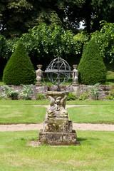 garden and chateau La Chatonniere near Villandry. Loire Valley