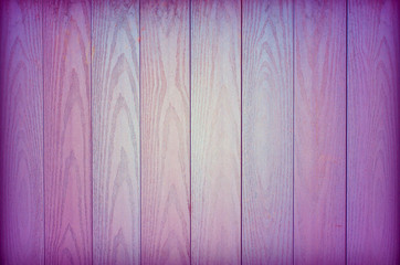 Coloured Wooden Background