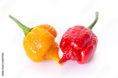 Fotobehang Kruiderij super hot pepper