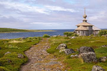 Церковь Андрея Первозванного, Большой Заяцкий остров