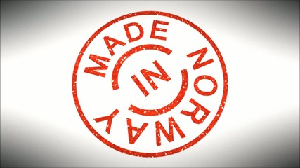 Stempel Made in Norway
