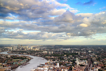 East London Cityscape & skyline