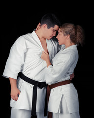 Karate Couple Passion