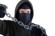 Murderer holding chain 1