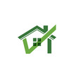 Check house image. Approved house logo