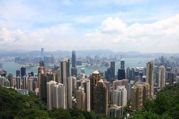 Hong Kong's Skyline