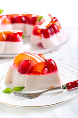Fruit, berry jelly