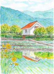 6月の農村