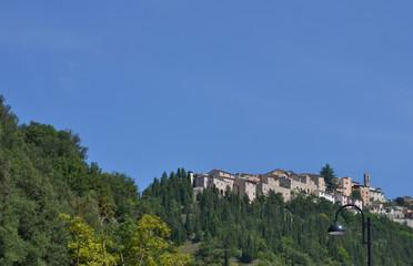Dorf in Umbrien - Italien