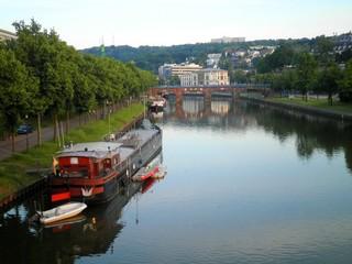 Saarbrucken Saar River Boat