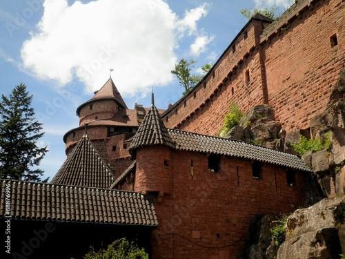 canvas print picture Haut Koenigsbourg Castle