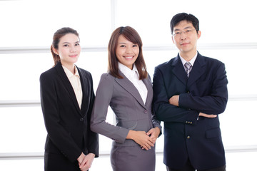 Group of success business people