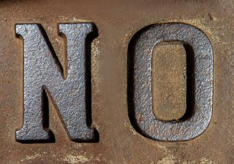 No! Nein!