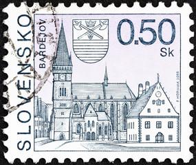 Bardejov town (Slovakia 2000)